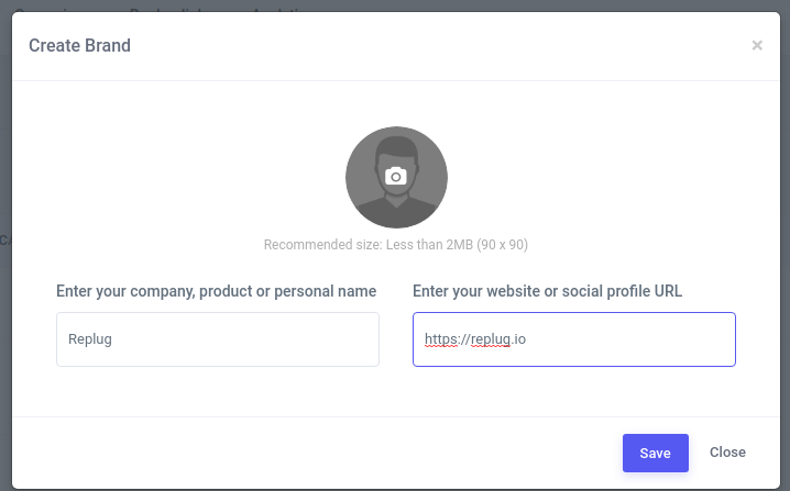 URL shortener - Replug