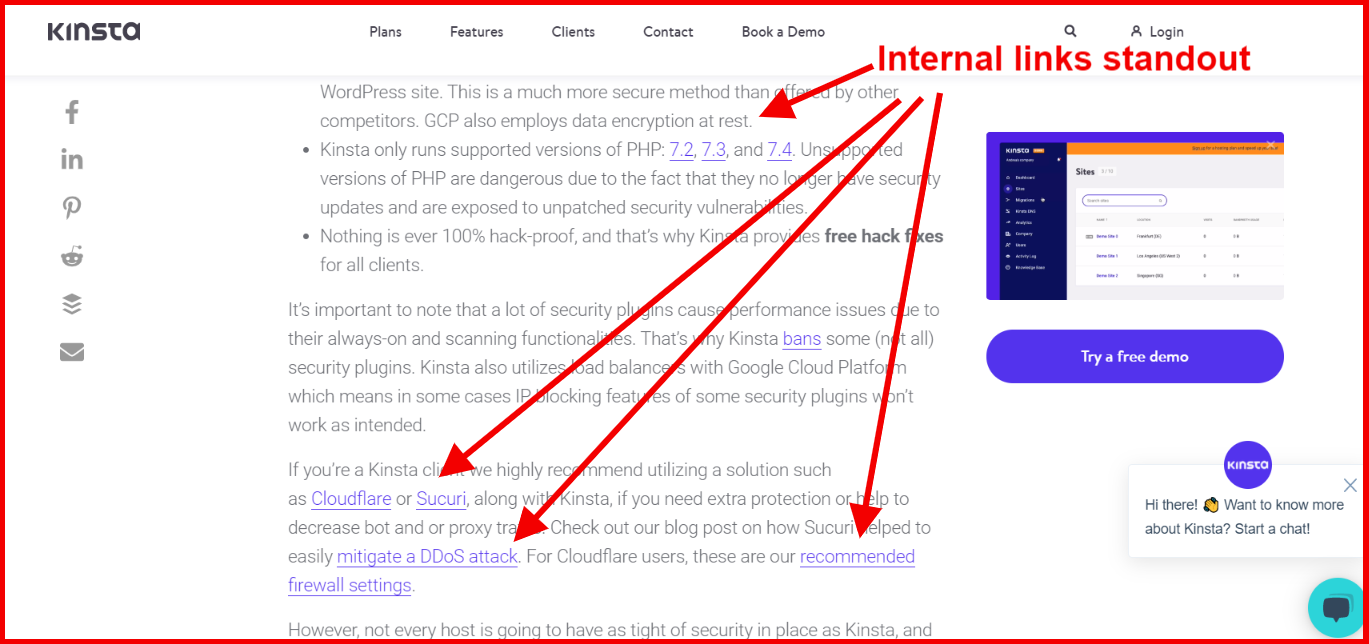 how to do internal linking for seo and improve CTR