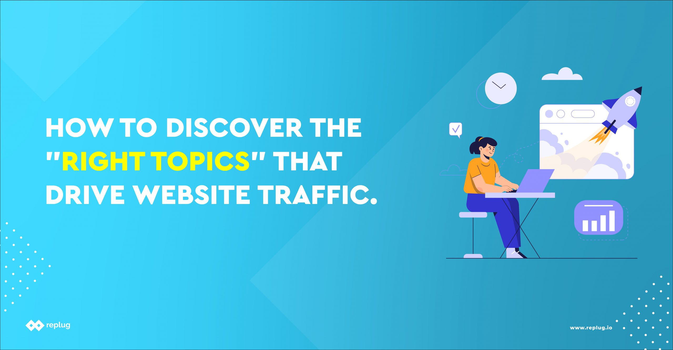 """How to Discover the """"Right Topics"""" that Drive Website Traffic"""