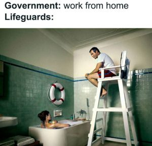 lifeguards work from home