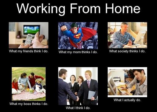 best work frpm home meme