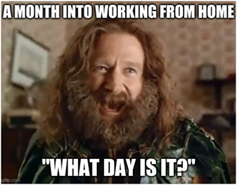 funny work from home meme